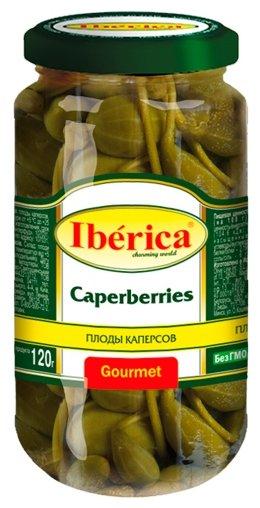 Iberica Плоды каперсов в маринаде, стеклянная банка 250 г
