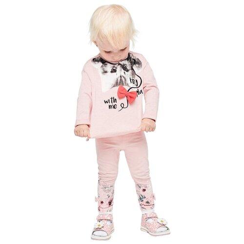 Лонгслив Pixo размер 86, светло-розовыйФутболки и рубашки<br>