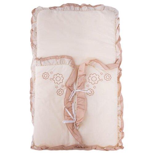 Купить Конверт-мешок Fairy на выписку Я и моя мама 69 см бежевый, Конверты и спальные мешки