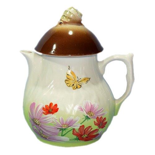 Добрушский фарфоровый завод Чайник Грибное утро 900 мл №2367 космеяЗаварочные чайники<br>