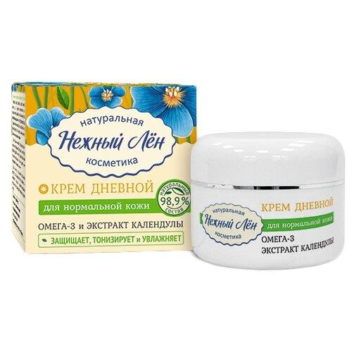 Нежный Лён Крем для лица для нормальной кожи Дневной, 50 мл- преимущества, отзывы, как заказать товар за 298 руб. Бренд Нежный Лён