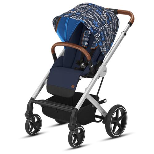 Прогулочная коляска Cybex Balios S trust blue коляска прогулочная cybex balios s denim denim blue с дождевиком