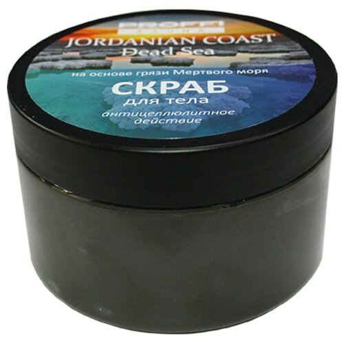 PROFFI Скраб соляной для тела с грязью Мертвого моря PW0017, 350 г