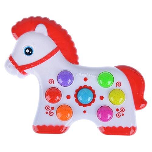 Купить Интерактивная развивающая игрушка Азбукварик Веселушки Лошадка, Развивающие игрушки
