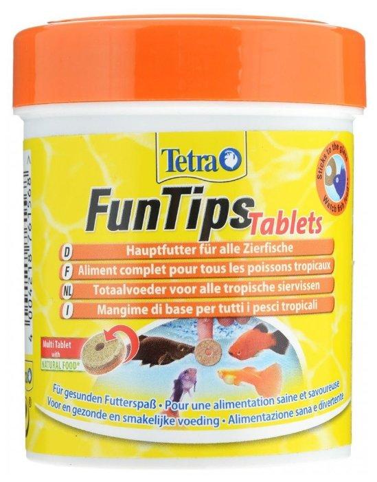 Сухой корм Tetra FunTips Tablets для рыб
