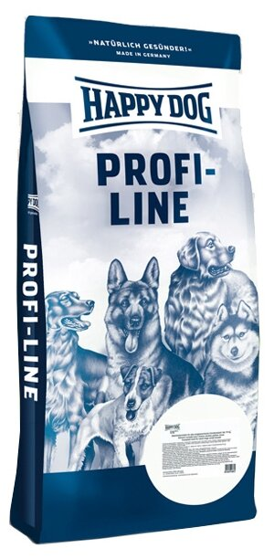 Корм для собак Happy Dog Profi Puppy Maxi 30/16 для щенков крупных пород с ягненком и рисом