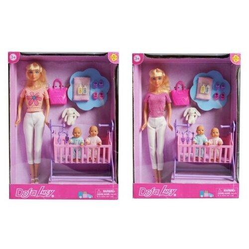 Купить Кукла Defa Lucy с близнецами, 29 см, 8359, Куклы и пупсы