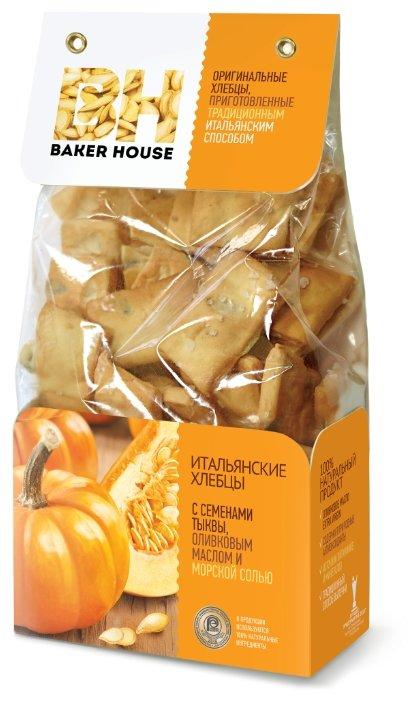 Итальянские хлебцы Baker House с семенами тыквы 250г