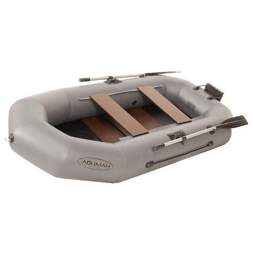 Фото - Надувная лодка Лоцман Профи С-240-М РС П серый надувная лодка лоцман с 260 м серый