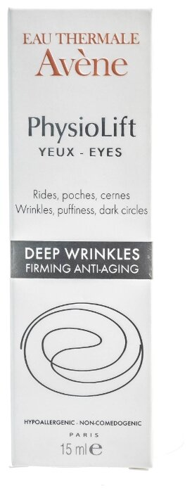 Крем Avene PhysioLift для контура глаз