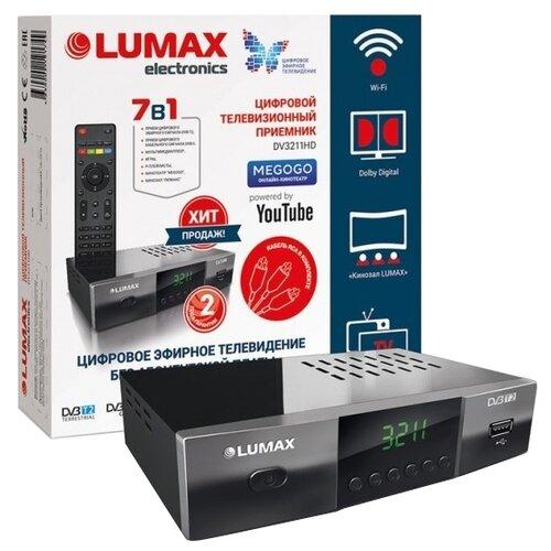 Фото - TV-тюнер LUMAX DV-3211HD tv тюнер sky vision t 2401
