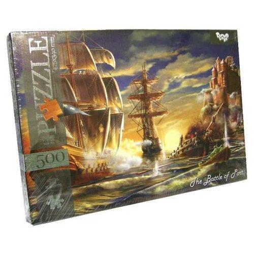 Купить Пазл Danko Toys Морской бой (C500-10-11), 500 дет., Пазлы