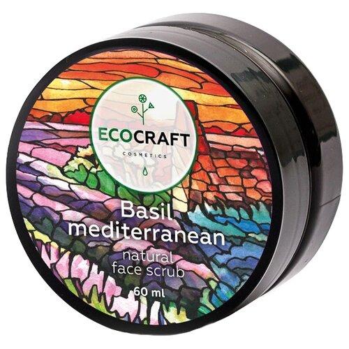 Фото - EcoCraft Скраб для лица для жирной и проблемной кожи Базилик средиземноморский 60 мл матирующий дневной крем для жирной и проблемной кожи лица 60 мл
