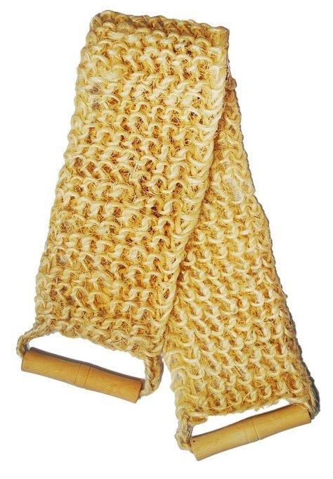 Мочалка Beauty format пояс крупного плетения из сизаля (45591-4005)