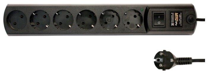 Купить <b>Сетевой фильтр MOST</b> Hard <b>HPw</b>, черный, 5 м по ...