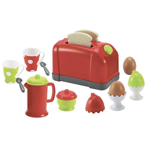 Купить Набор Ecoiffier 1231 красный/зеленый/черный/белый, Детские кухни и бытовая техника