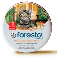 Форесто (Bayer) Ошейник для кошек 38 см