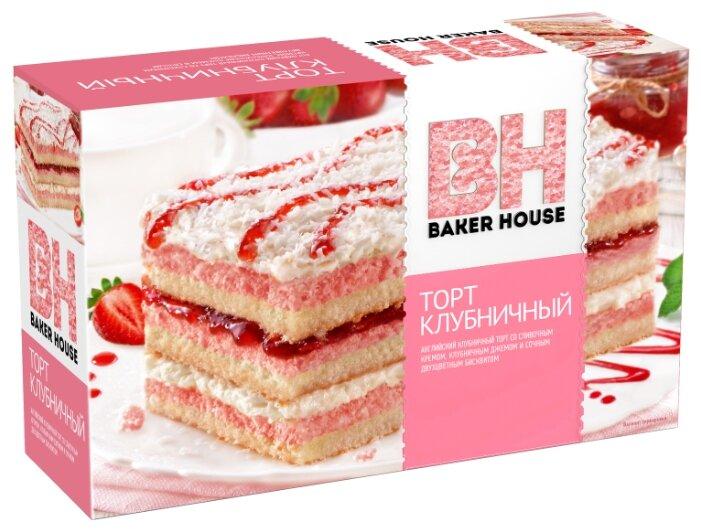 Торт бисквитный Baker House Виттория 350г