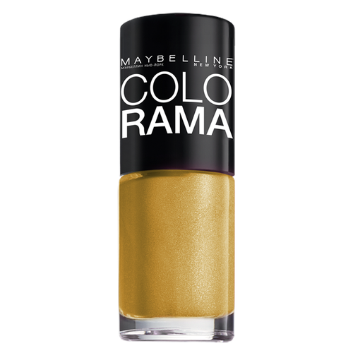 Лак Maybelline Colorama 7 мл. 108 золотой песокЛак для ногтей<br>
