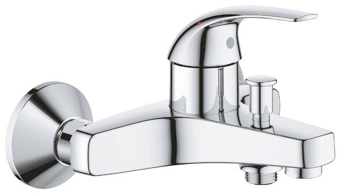 Смеситель для ванны с душем Grohe BauCurve 23599000 однорычажный хром