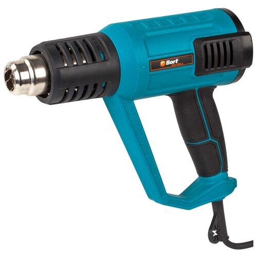 цена на Бытовой строительный фен Bort BHG-2000L-K Case