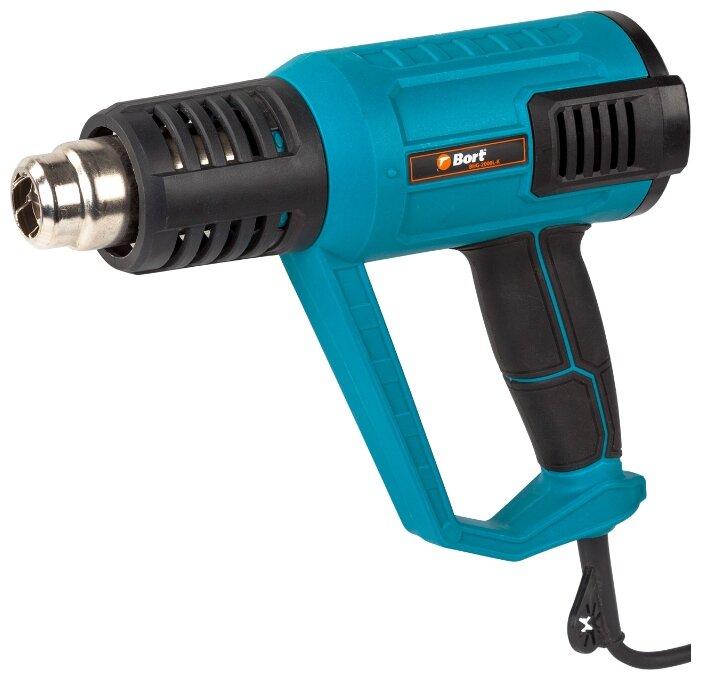 Бытовой строительный фен Bort BHG-2000L-K Case