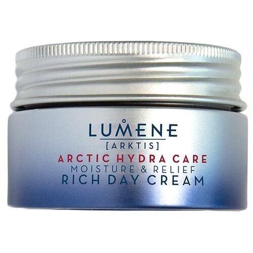 Lumene Arktis Arctic Hydra Care Rich Day Cream Увлажняющий и успокаивающий насыщенный дневной крем для лица, 50 мл