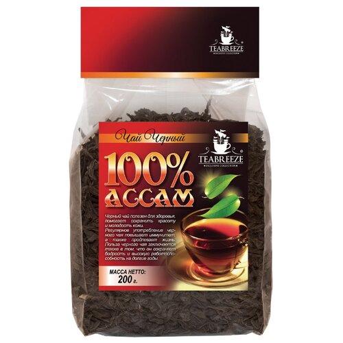Чай черный Teabreeze 100% Ассам, 200 гЧай<br>