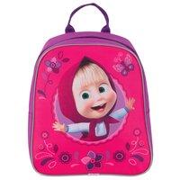 РОСМЭН Рюкзачок малый Маша и Медведь (33618) розовый/фиолетовый