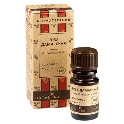 Botanika эфирное масло Роза дамасская 5 мл botanika эфирное масло жасмин крупноцветковый 10 мл