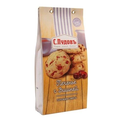 С.Пудовъ Мучная смесь Печенье с вишней, 0.35 кгСмеси для выпечки<br>