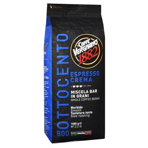 Фото - Кофе в зернах Caffe Vergnano 1882 Espresso Crema, 1 кг кофе молотый caffe vergnano 1882 espresso casa 250 г