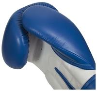 Боксерские перчатки Clinch Fight красный/белый 12 oz