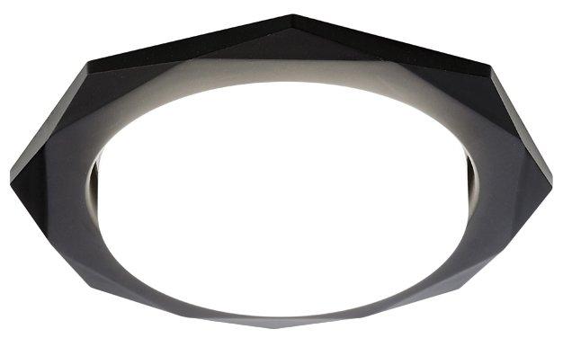 Встраиваемый светильник Ambrella light G180 BK, черный