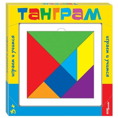 Купить Головоломка Step puzzle Танграм (89812) разноцветный, Головоломки