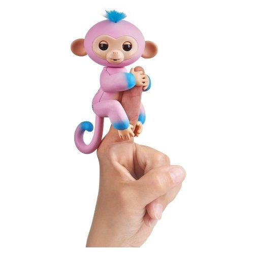 Купить Интерактивная игрушка робот WowWee Fingerlings Ручная обезьянка Двухцветная Канди, Роботы и трансформеры