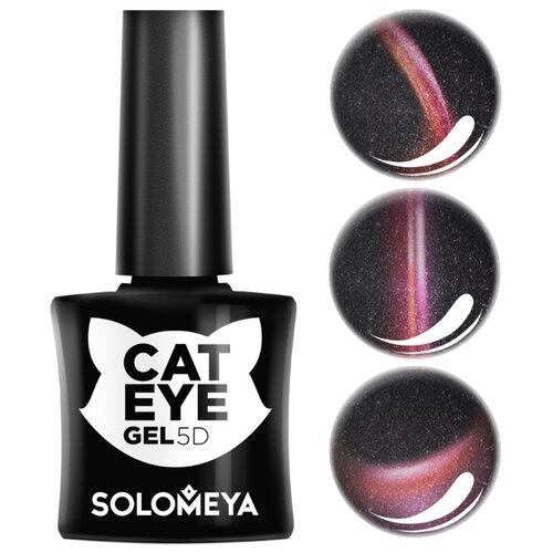 Гель-лак Solomeya Кошачий глаз, 5 мл, оттенок Британка 1 solomeya гель лак color gel тон irish scg054 айриш 8 5 мл