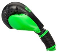Боксерские перчатки Clinch Aero черный/золотой 6 oz