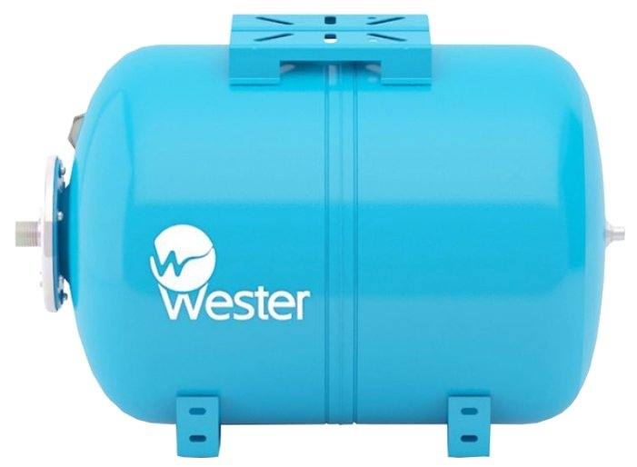 Гидроаккумулятор Wester WAO 24 24 л горизонтальная установка