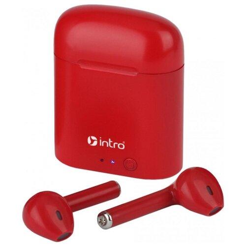 Беспроводные наушники Intro BI-990 red цена 2017