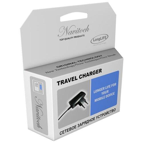 Сетевая зарядка Navitoch Premium NOKIA 6101 черныйЗарядные устройства и адаптеры<br>