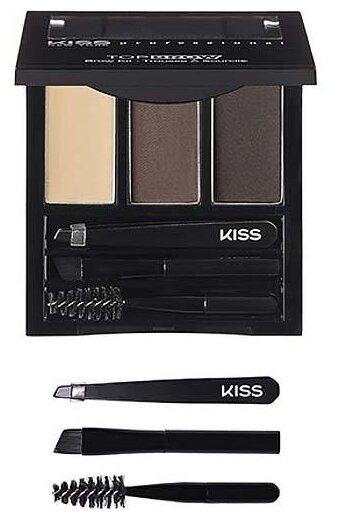 Kiss New York Professional Набор для моделирования и коррекции бровей Top brow