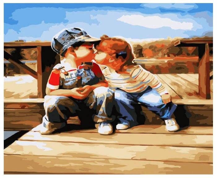 Смешные анимации, мальчик и девочка картинки прикольные