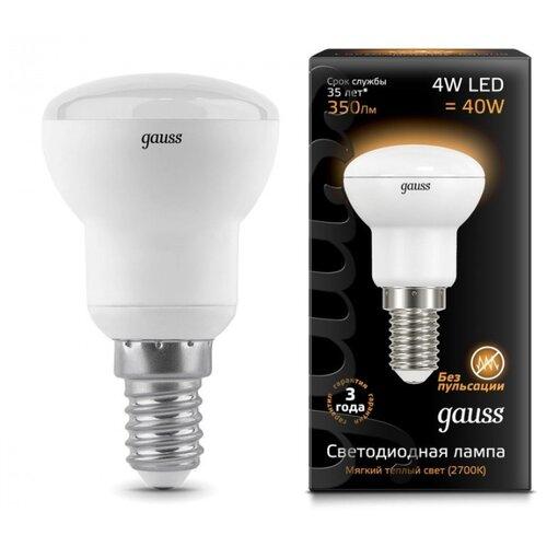 цена на Лампа светодиодная gauss 106001104, E14, R39, 4Вт