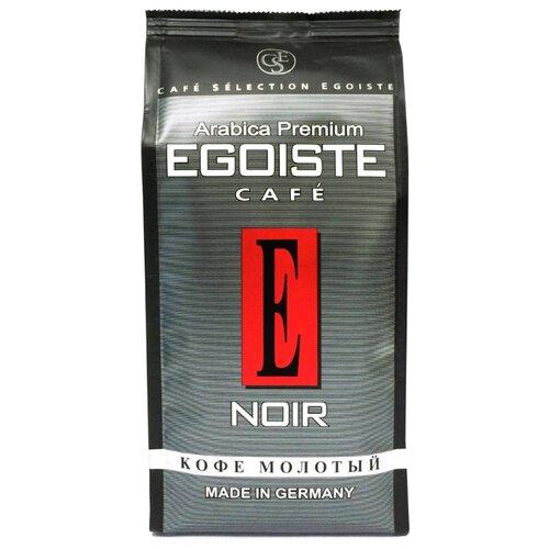 Кофе молотый Egoiste Noir, 250 г кофе растворимый egoiste noir пакет 70 г