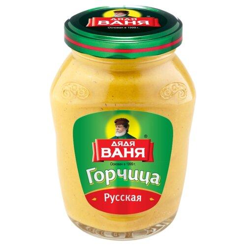 Фото - Горчица Дядя Ваня Русская, 140 г огурчики восточные дядя ваня 680 г
