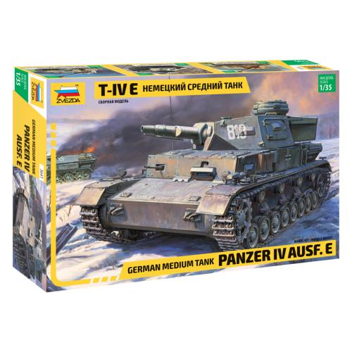 Купить Сборная модель ZVEZDA Немецкий средний танк Т-IV E (3641) 1:35, Сборные модели