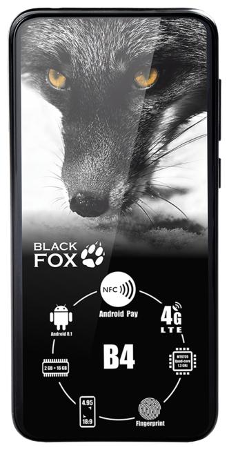 Смартфон Black Fox B4 — купить по выгодной цене на Яндекс.Маркете