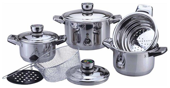 Набор посуды Bekker BK-2865 De Luxe, 9 предметов