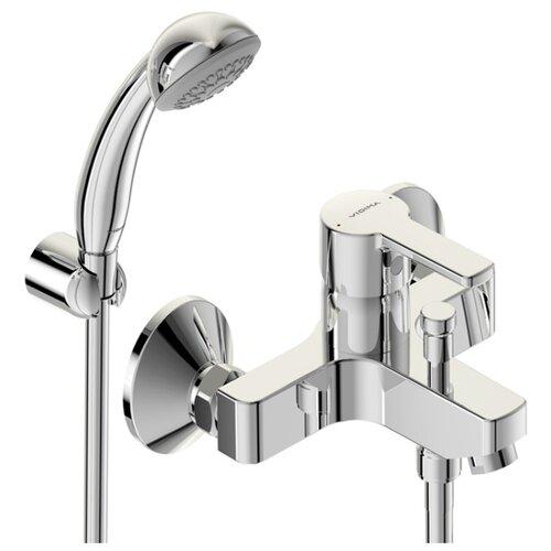 Смеситель для ванны с душем VIDIMA Уно BA238AA однорычажный лейка в комплекте хром смеситель для ванны коллекция орион b4225аа ba005aa однорычажный хром vidima видима